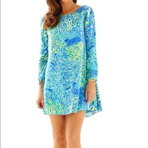 Lilly Pulitzer Lagoon Colette Tunic Dress